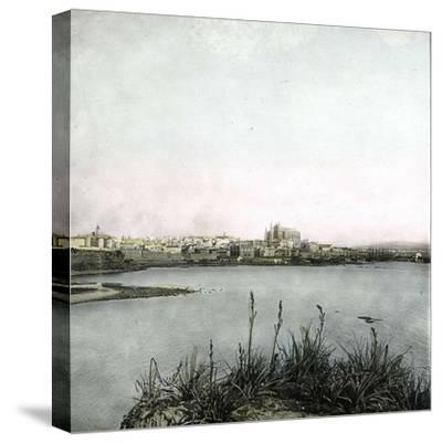 Palma (Island of Majorca, Balearics, Spain), Panorama, Circa 1895-Leon, Levy et Fils-Stretched Canvas Print