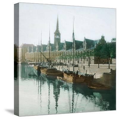 Copenhagen, Denmark, the Stock Exchange-Leon, Levy et Fils-Stretched Canvas Print