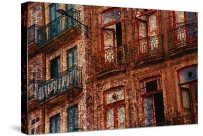Old Building in Porto, Portugal--Stretched Canvas Print