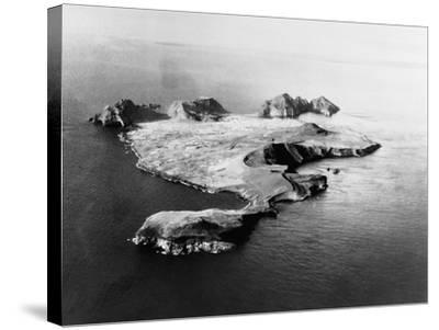 Island of Heimaey--Stretched Canvas Print