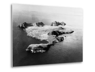 Island of Heimaey--Metal Print