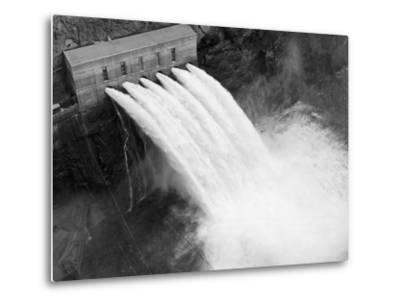 Irrigation Valves at Boulder Dam--Metal Print