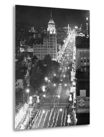 Hollywood Boulevard-Philip Gendreau-Metal Print