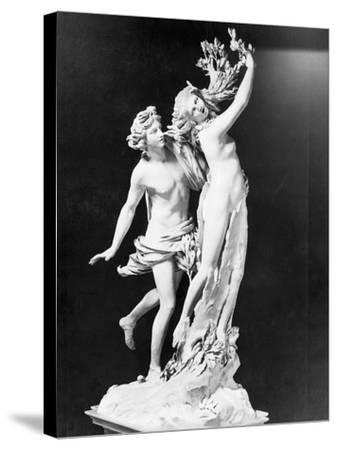 Apollo and Daphne by Gian Lorenzo Bernini--Stretched Canvas Print