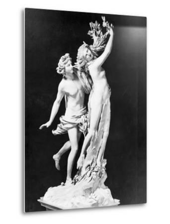 Apollo and Daphne by Gian Lorenzo Bernini--Metal Print