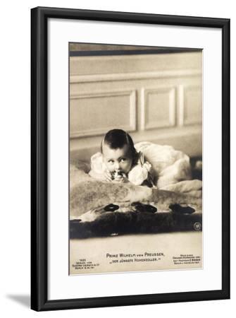 Prinz Wilhelm Von Preußen Als Baby, Liersch 1635--Framed Giclee Print