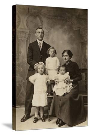 Family Portrait--Stretched Canvas Print