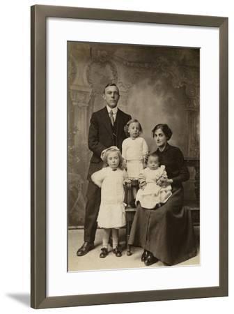Family Portrait--Framed Photographic Print