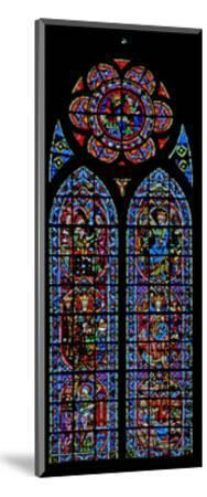 Window W203 Depicting the Annunciation and Childhood of Christ--Mounted Giclee Print