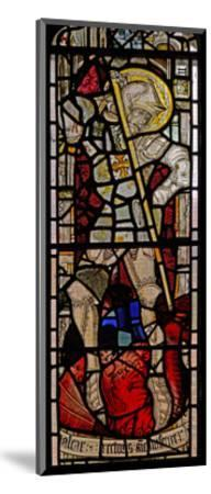 Window EW Depicting St George--Mounted Giclee Print