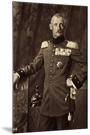 Kronprinz Rupprecht Von Bayern, Heerführer, Liersch--Mounted Giclee Print