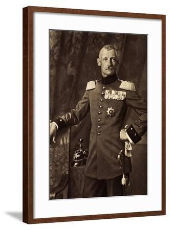 Kronprinz Rupprecht Von Bayern, Heerführer, Liersch--Framed Giclee Print