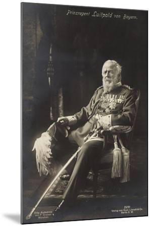Prinzregent Luitpold Von Bayern, Liersch 2251--Mounted Giclee Print