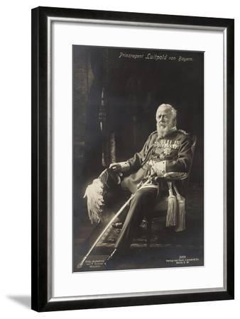 Prinzregent Luitpold Von Bayern, Liersch 2251--Framed Giclee Print