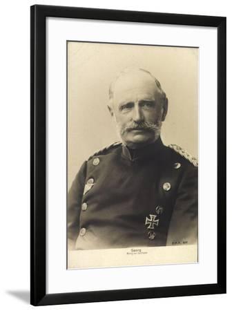König Friedrich August Georg Von Sachsen--Framed Giclee Print