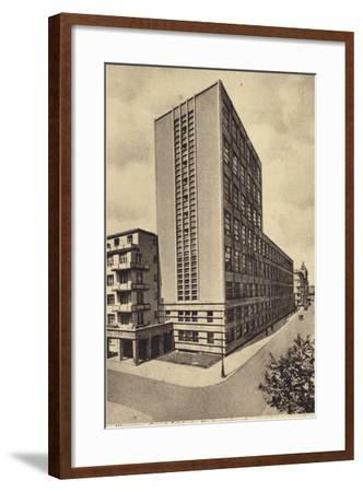 Central Long Distance Telephone Service Office Building, Warsaw--Framed Photographic Print