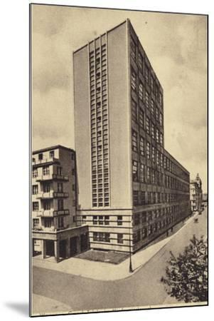 Central Long Distance Telephone Service Office Building, Warsaw--Mounted Photographic Print