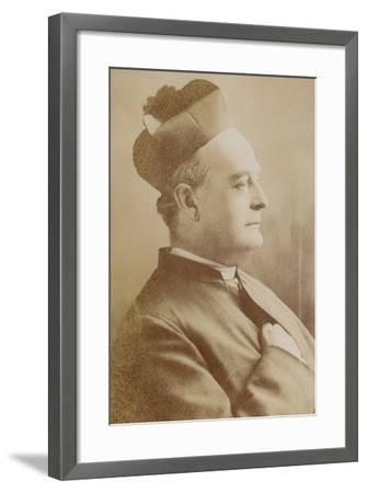 Father Vaughan--Framed Photographic Print