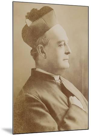 Father Vaughan--Mounted Photographic Print