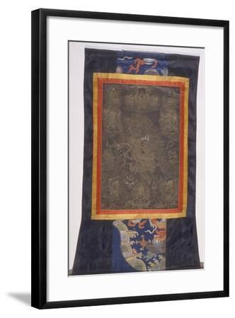 Thangka of Dharmapala--Framed Giclee Print