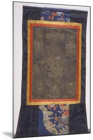 Thangka of Dharmapala--Mounted Giclee Print
