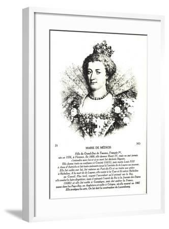 Maria Di Medici, Frau Heinrich Des IV--Framed Giclee Print