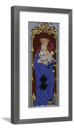 Madonna and Child, Decoration on the House of the Blackheads--Framed Giclee Print