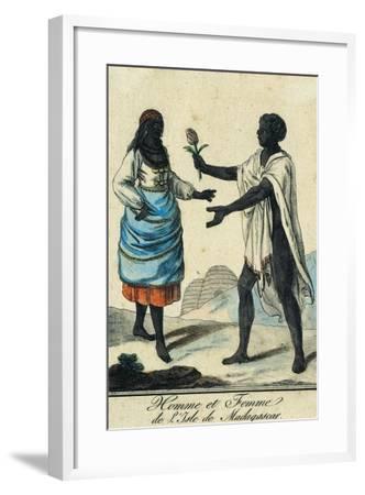 Man and Woman from Madagascar Island Madagascar--Framed Giclee Print