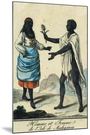 Man and Woman from Madagascar Island Madagascar--Mounted Giclee Print
