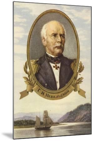Gennady Nevelskoy, Russian Explorer--Mounted Giclee Print