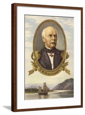 Gennady Nevelskoy, Russian Explorer--Framed Giclee Print