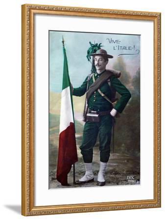 Long Live Italy, 1915--Framed Giclee Print