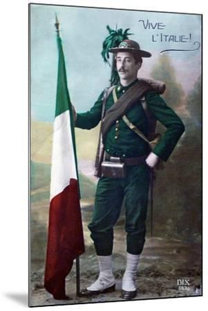 Long Live Italy, 1915--Mounted Giclee Print