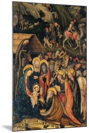 Journey and Adoration of Magi--Mounted Giclee Print