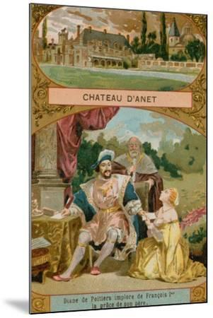Chateau D'Anet--Mounted Giclee Print