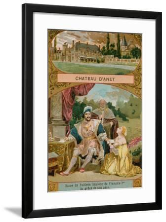 Chateau D'Anet--Framed Giclee Print