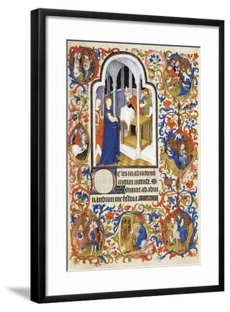 France, the Purification, Miniature from the Manuscript Breviary 469--Framed Giclee Print