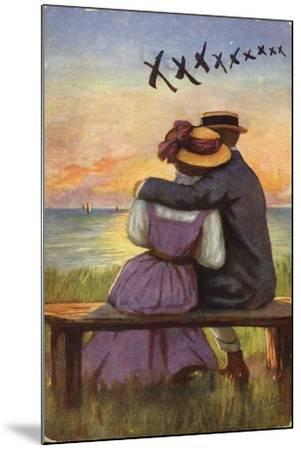 Kisses--Mounted Giclee Print