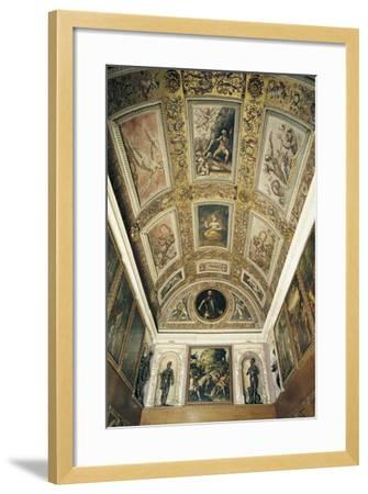 Ceiling Detail, Studiolo of Francesco I--Framed Giclee Print