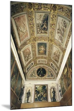 Ceiling Detail, Studiolo of Francesco I--Mounted Giclee Print