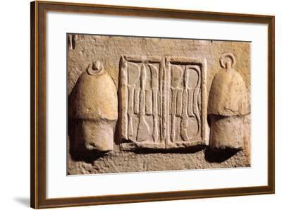 Relief Representing Surgical Instruments, from Asklepeion at Athens B.C.--Framed Giclee Print