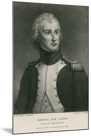 Marshal Jean Lannes--Mounted Giclee Print