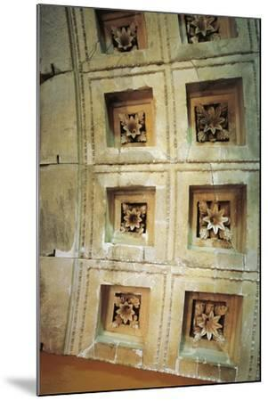 Coffered Ceiling of Tholos at Epidaurus, Greece--Mounted Giclee Print