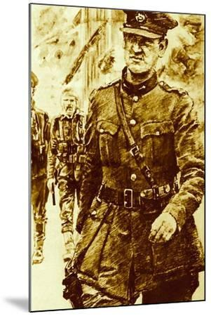 Michael Collins, Leader of the Rebels in the Easter Uprising in Ireland, 1916--Mounted Giclee Print