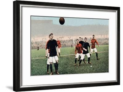 A Throw in from the Touch Line, from B.B. London's Series No.E41--Framed Giclee Print