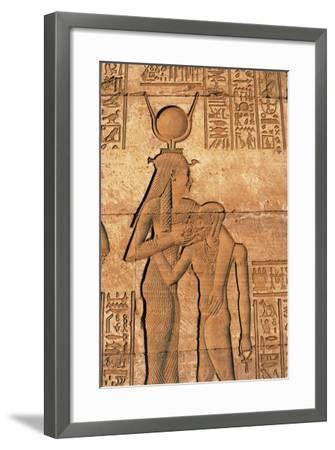 Egypt, Dandarah--Framed Giclee Print
