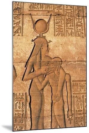 Egypt, Dandarah--Mounted Giclee Print