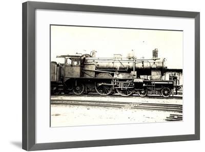 Foto Deutsche Schnelllok S7 716, Tender--Framed Giclee Print