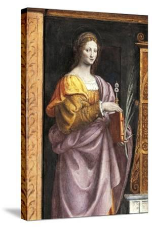 Italy, Milan, Church of Saint Maurice Al Monastero Maggiore, Saint Lucia, 1521-1523--Stretched Canvas Print