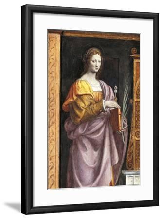 Italy, Milan, Church of Saint Maurice Al Monastero Maggiore, Saint Lucia, 1521-1523--Framed Giclee Print